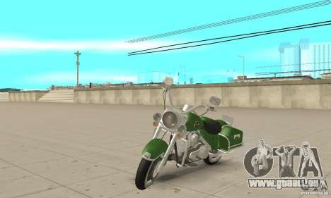 Harley Davidson Road King pour GTA San Andreas