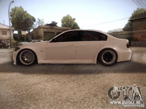 BMW 320SI Drift für GTA San Andreas linke Ansicht
