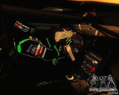 Chevrolet Corvette Drift für GTA San Andreas Rückansicht