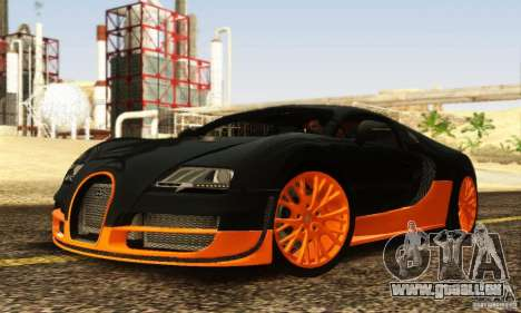 Bugatti Veyron SuperSport für GTA San Andreas