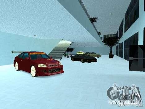 Nouveau showroom à San Fierro pour GTA San Andreas deuxième écran