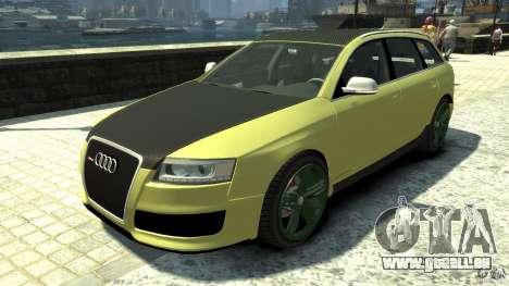 Audi RS6 Avant 2010 Carbon Edition pour GTA 4