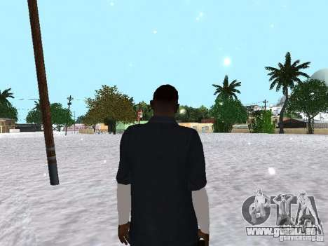 Snow MOD 2012-2013 für GTA San Andreas fünften Screenshot
