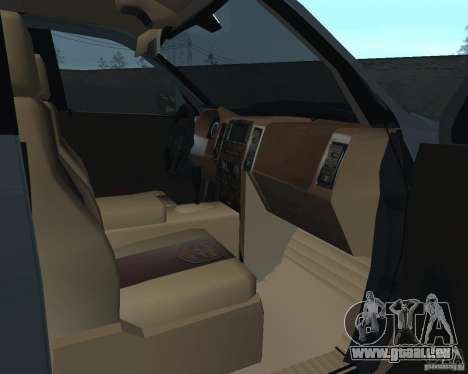 Dodge Ram Hemi für GTA San Andreas Rückansicht