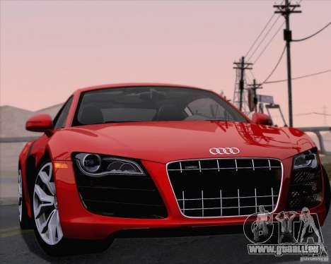 Audi R8 v10 2010 für GTA San Andreas Seitenansicht