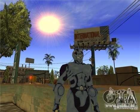 Guyver-I Demo pour GTA San Andreas troisième écran