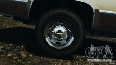 Chevrolet Silverado 1986 pour GTA 4 est un côté