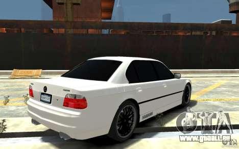 BMW 750i E38 HAMANN pour GTA 4 est un droit