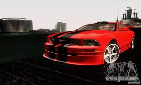 Ford Mustang GT Tunable für GTA San Andreas