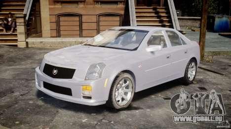 Cadillac CTS pour GTA 4 Vue arrière