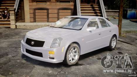 Cadillac CTS für GTA 4 Rückansicht