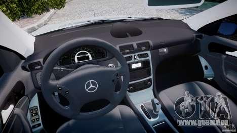 Mercedes-Benz C32 AMG 2004 pour GTA 4 Vue arrière