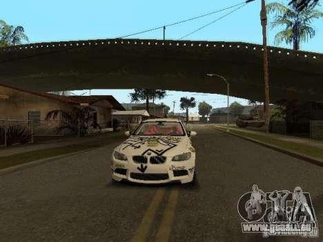 BMW M3 E92 Grip King pour GTA San Andreas vue intérieure