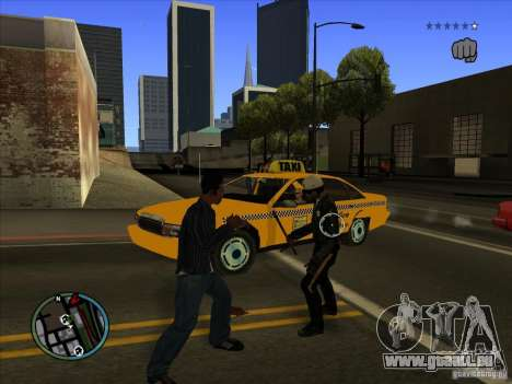 GTA IV TARGET SYSTEM 3.2 pour GTA San Andreas