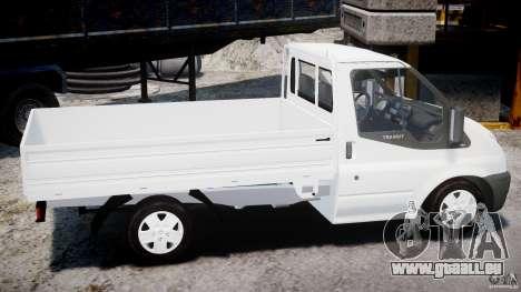 Ford Transit Pickup 2008 für GTA 4 Seitenansicht