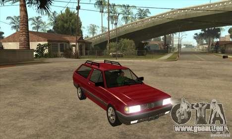 VW Parati GL 1994 pour GTA San Andreas vue arrière