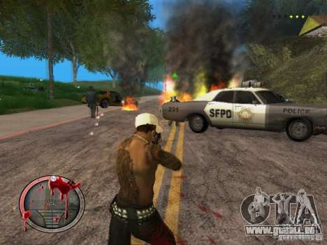 GTA IV HUD Final pour GTA San Andreas cinquième écran