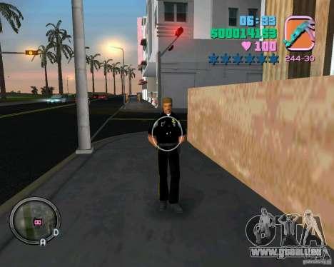 Neue Kleidung Bullen für GTA Vice City siebten Screenshot