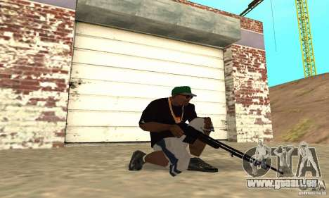 Browning M1919 pour GTA San Andreas