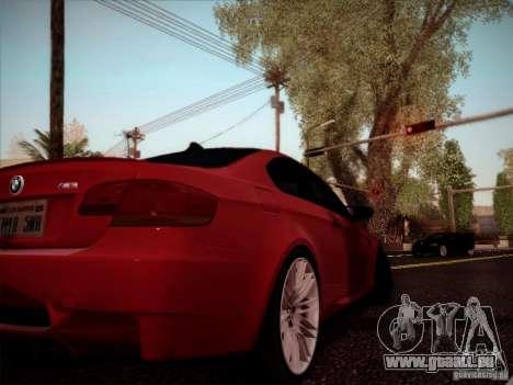 BMW E92 v2 Updated pour GTA San Andreas vue de droite