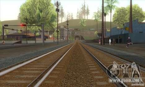 Russian Rail v2.0 pour GTA San Andreas deuxième écran