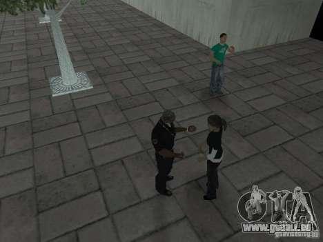 SFnews ou la possibilité de donner une interview pour GTA San Andreas cinquième écran