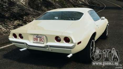 Chevrolet Camaro 1970 v1.0 für GTA 4 hinten links Ansicht