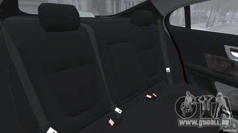 Jaguar XFR 2010 v2.0 für GTA 4 Seitenansicht