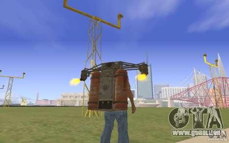 Jetpack im Stil der UdSSR für GTA San Andreas zweiten Screenshot