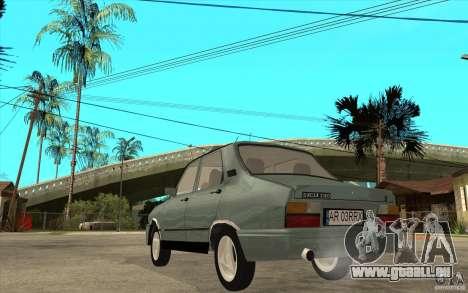 Dacia 1310 L Custom-RK pour GTA San Andreas sur la vue arrière gauche