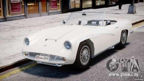 FSO Syrena Sport 1960 pour GTA 4 Vue arrière