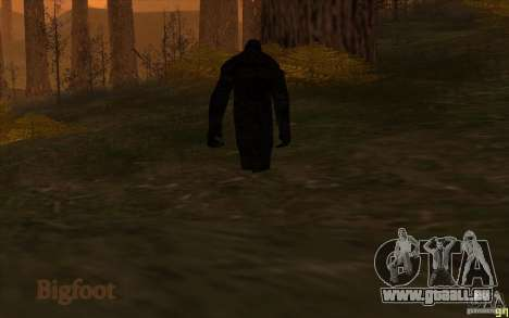 Créatures mystiques pour GTA San Andreas troisième écran