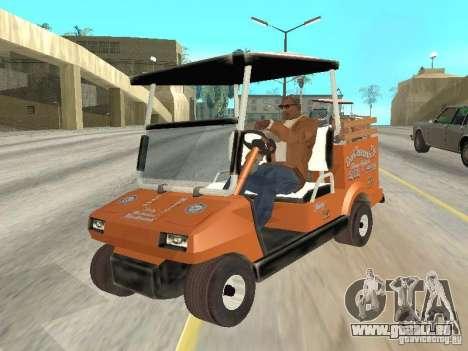 Golfcart caddy für GTA San Andreas