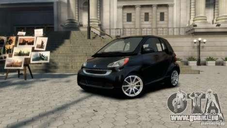Smart ForTwo 2012 v1.0 pour GTA 4