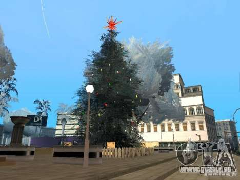 Silvester in der Grove Street für GTA San Andreas achten Screenshot