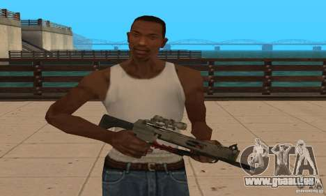 Black Ops-Armbrust für GTA San Andreas zweiten Screenshot