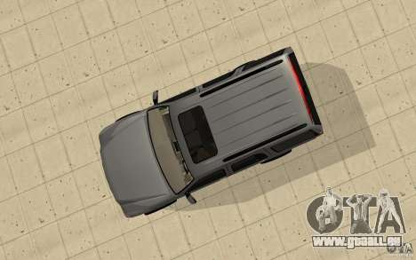 Cadillac Escalade für GTA San Andreas rechten Ansicht