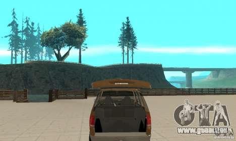 Ford Explorer 2002 für GTA San Andreas Seitenansicht