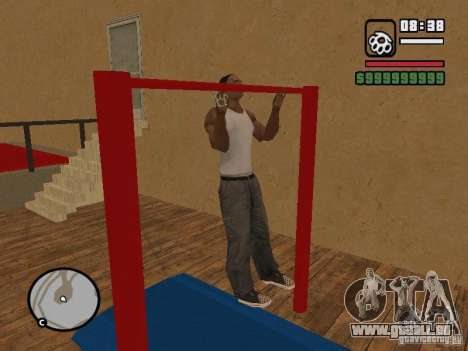 Training and Charging pour GTA San Andreas