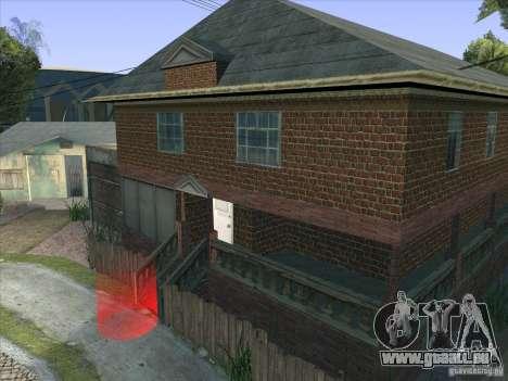Grove Street Retextured pour GTA San Andreas sixième écran
