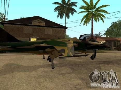 Camouflage pour Hydra pour GTA San Andreas laissé vue