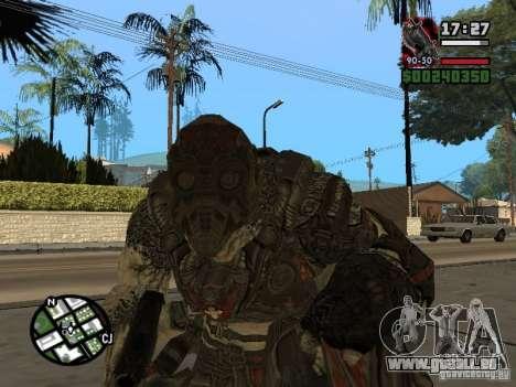 Lokast Grunt de Gears of War 2 pour GTA San Andreas deuxième écran
