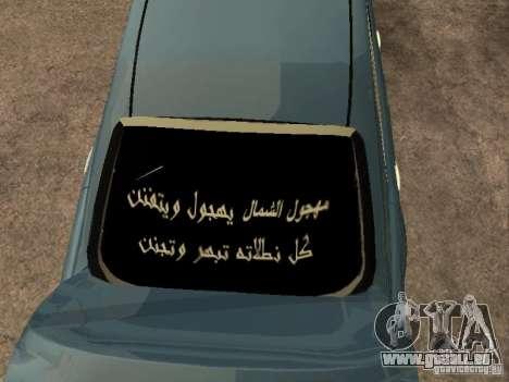 Toyota Camry 2009 für GTA San Andreas Innenansicht