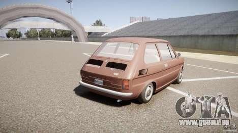 Fiat 126 pour GTA 4 est un côté