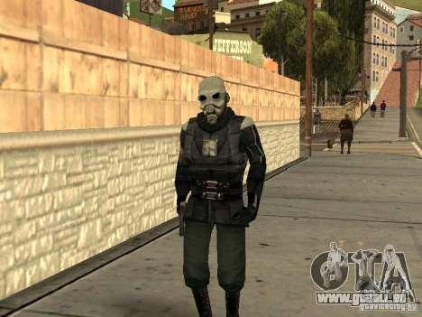 Cops from Half-life 2 für GTA San Andreas zweiten Screenshot