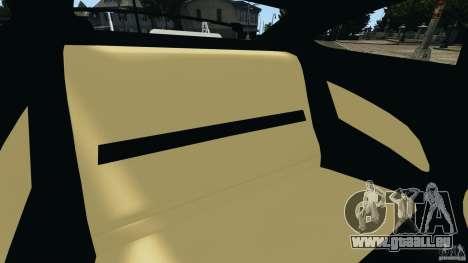 Mercedes-Benz C63 AMG 2012 pour GTA 4 est un côté