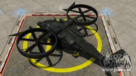Hélicoptère de transport Samson SA-2 pour GTA 4 est un droit