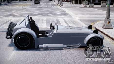 Caterham Super Seven für GTA 4 Rückansicht