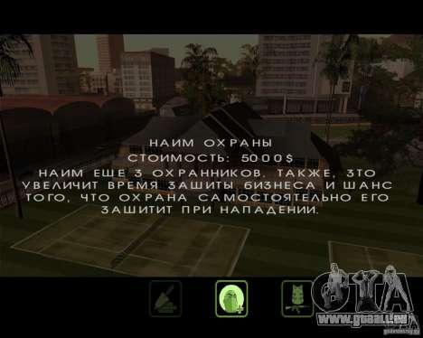 Great Theft Car V1.0 pour GTA San Andreas neuvième écran