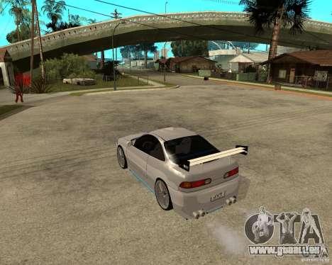 Honda Integra TUNING für GTA San Andreas rechten Ansicht